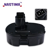 NASTIMA 18 Volt 3300mAh NiCd Pod Style Battery Replacement Power Tool Battery For DEWALT DC9096 DE9039