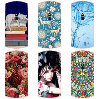 Hard Plastic Soft TPU Silicon Mobile Phone Case For Sony Xperia MT15i Phone Cover Case DIY Color Paitn Cellphone Bag Shell