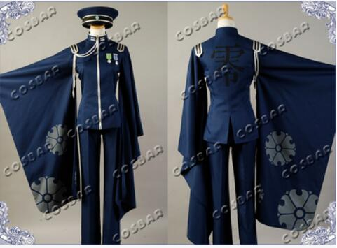 Livraison gratuite Senbonzakura vocaloïde Kagamine LEN Cosplay Costume Cosplay Kimono armée uniforme tissu pour hommes femmes Halloween