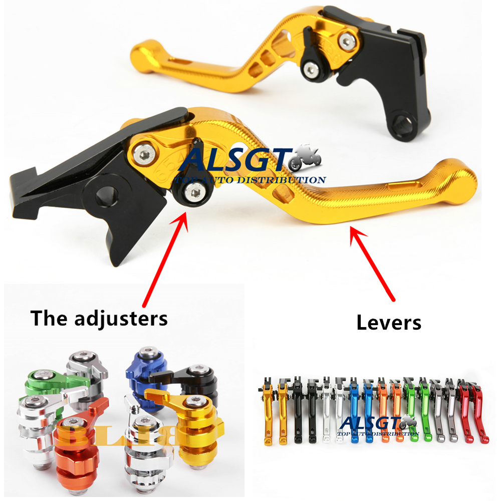 For Vespa VLA/VLB Sprint / VS5 GS150  Adjustable CNC Motobike 3D Long/ Short Levers Clutch Brake Levers 8 Colors 2 style