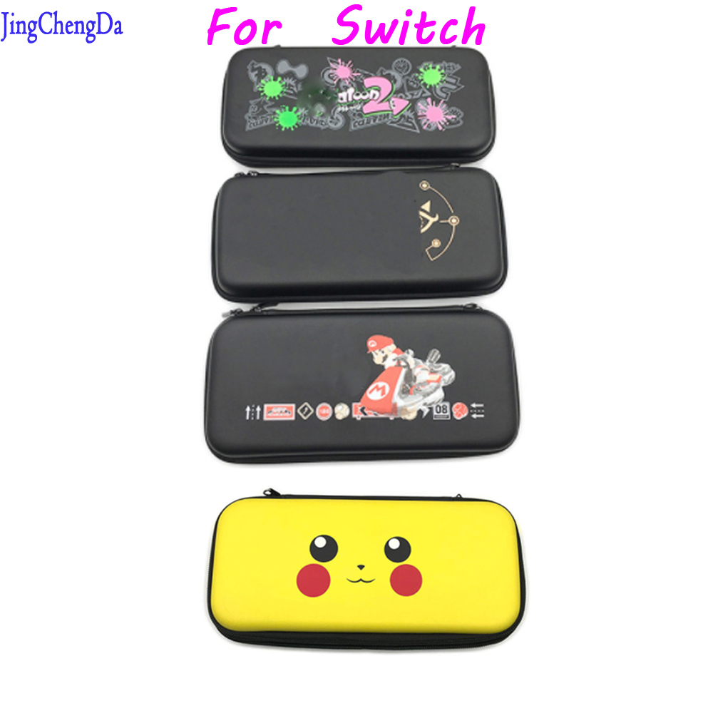 Splatoon 2 Protective Hard Carrying Case For Nintend Switch Travel Storage Bag For Nintend Switch Game Accessories