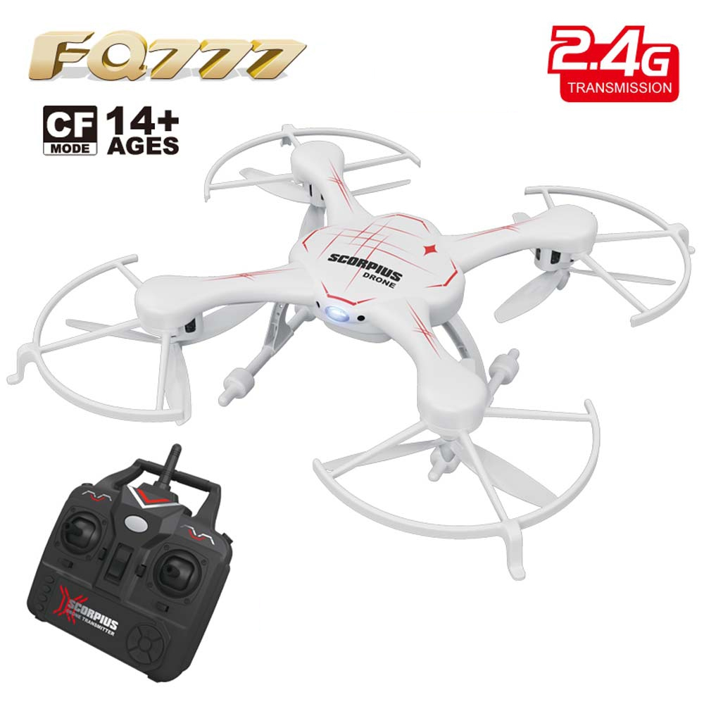 FQ777 955 RC Drones with LED Light 2.4G 4CH 6-Axis Gyro RC Quadcopter Aircraft Toy CF Mode RTF RC Drone Dron Kids Toys Xmas Gift original mini drone 4ch 2 4g 6 axis gyro 2 0mp rtf camera remote control quadcopter rc aircraft toy headless mode helicopter toy