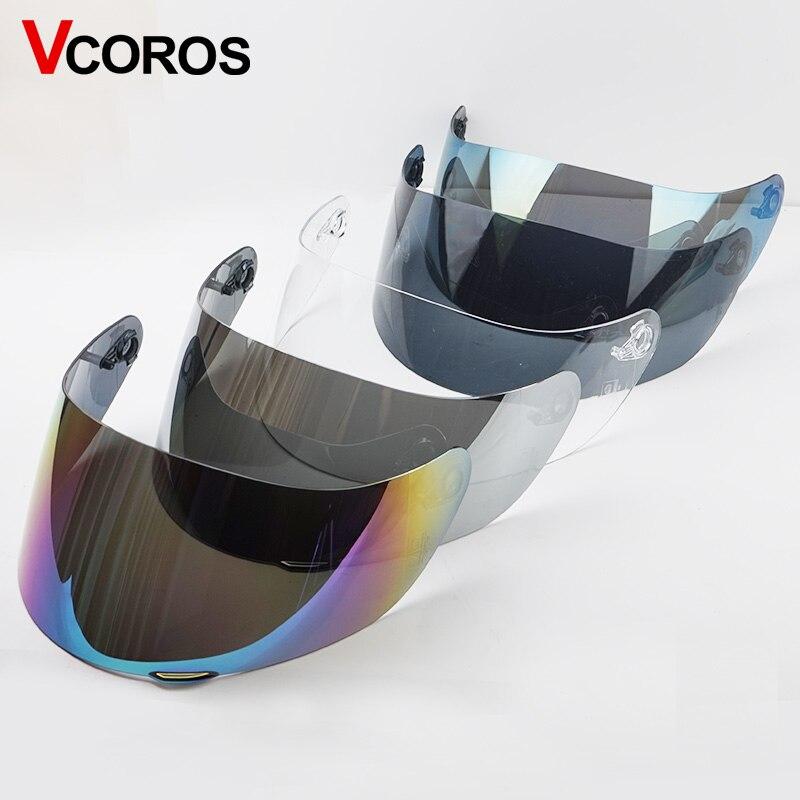 Helmet visor for AGV K5 K3 SV Full face Motorcycle Helmet Shield Parts original glasses for agv k3 sv k5 motorbike helmet Lens-in Helmets from Automobiles & Motorcycles