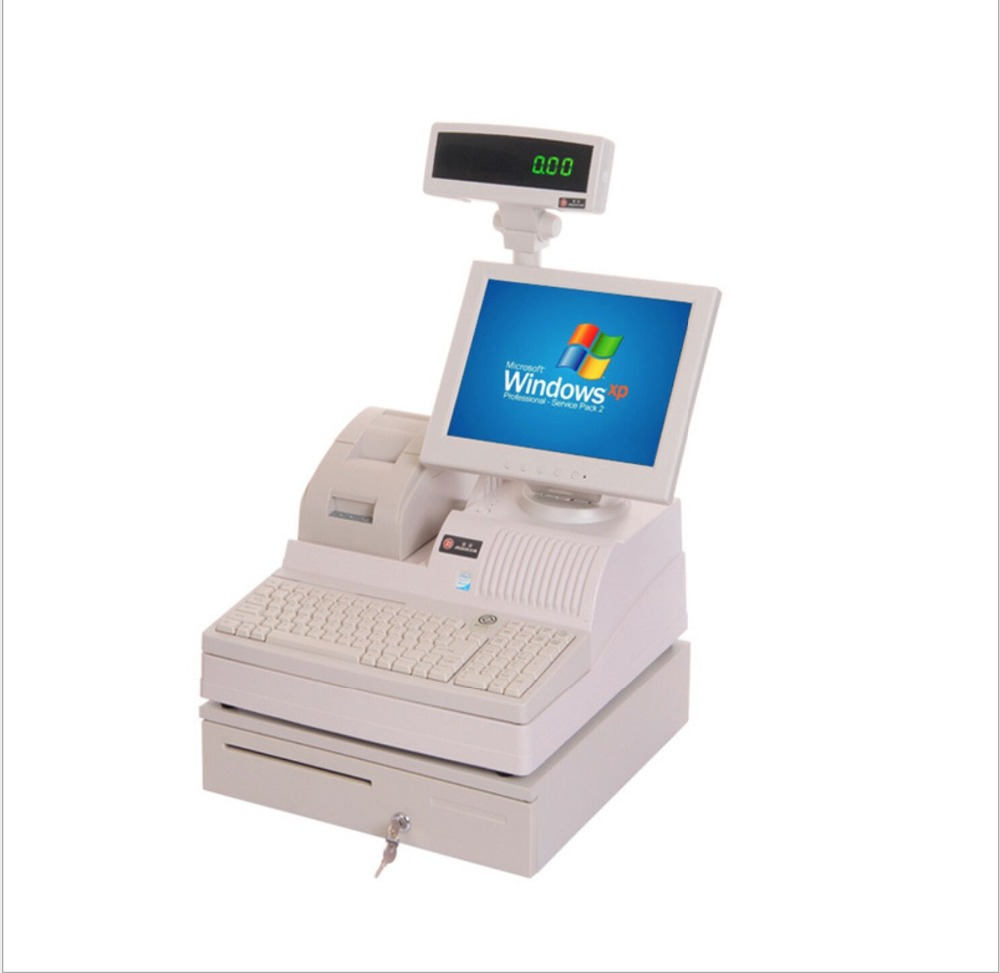 12 Inch Touch Screen POS Terminal Small Size All In One Pole