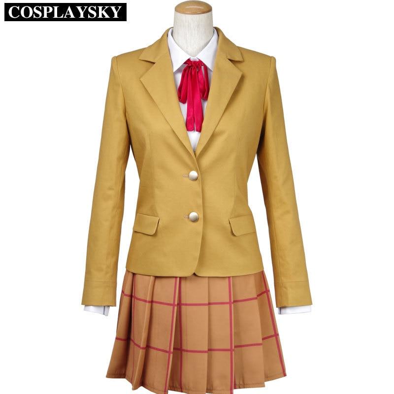 Prison School Mari Kurihara School Uniform Cosplay Costumes Adult Costume for Halloween Women Custom Any Size Party Dress AW-2H