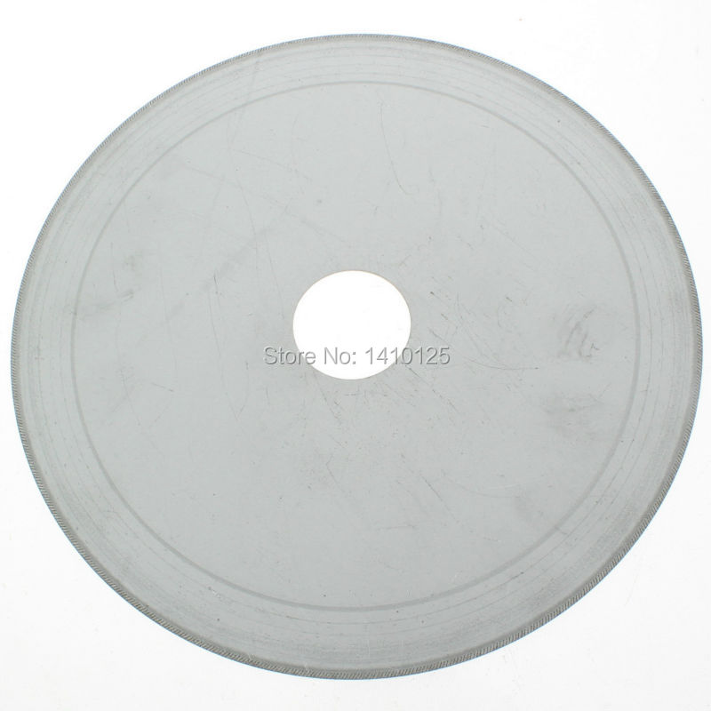"7 ""pulgadas Super-Thin Arbor Hole 30mm Rim 0.65mm Diamond Lapidary Saw Blade Cutting Disc Ahorro en material para joyas Gems Agate"