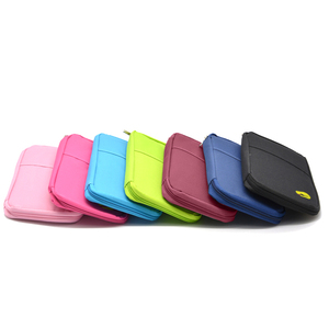 Image 4 - 多機能トラベルパスポートパッケージクレジット Id カード現金財布多色収納バッグ財布文書ジッパー