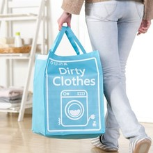 NAAN GUO Dirty Clothes Storage Bags Folding Handbag Sundries Organizer Pouch Weaving Craft Laundry Bucket High Quality 2328XD