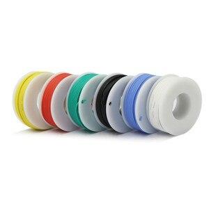 Image 3 - Cabo de arame flexível kit de fio, arame de silicone flexível cobre 6 cores, 30/28/26/24/22/20/18awg pacote de linha de cobre elétrica diy