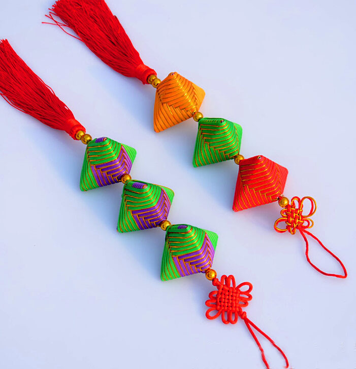 Small Gifts Chinese Knot Arts And Crafts Colourful Sachets
