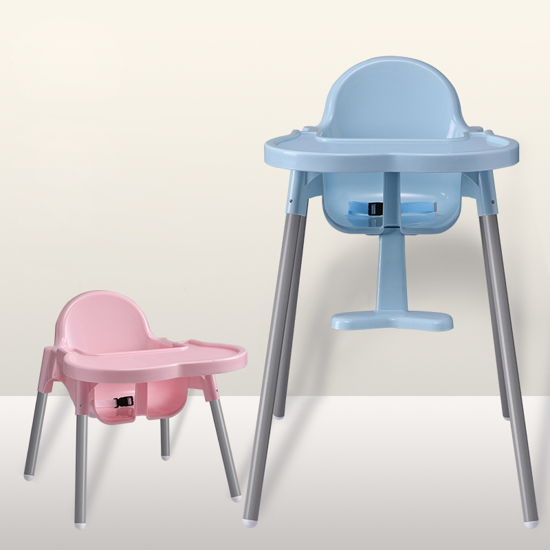 Cheap Multi-function Indoor Kids Dining Highchair Plastic Baby Chair