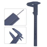 New Arrvial 2pcs 6 Inch 150mm Plastic Ruler Sliding Gauge Vernier Caliper Jewelry Measuring With Dropshipping Measuring Tools