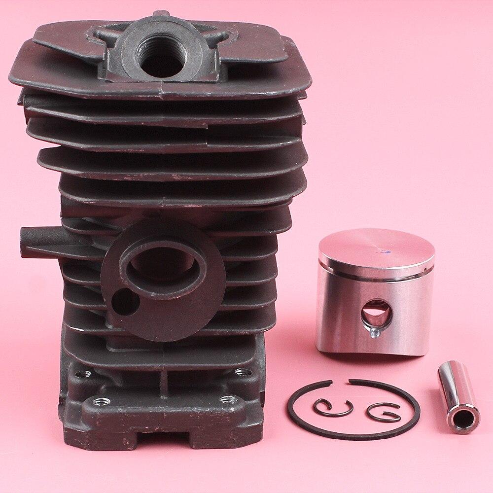 Комплект пружинных стопорных колец поршневого кольца 38 мм для Husqvarna 136 137 141 142 запасная деталь для бензопилы