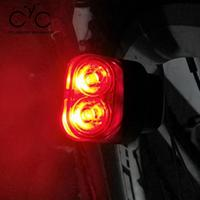 Bike Taillight Headlight Mountain Bike Handlebar Light Warming Safety LED Flashing Riding Night