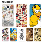 Huawei honor 7 lite Case,Silicon panda Painting Soft TPU Back Cover for Huawei honor 7 lite Phone fitted Case shell