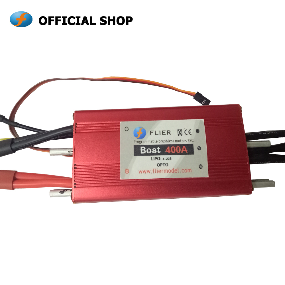 Flier brushless 22S 400A ESC 90V speed controller for Surfboard and wavejet-in Parts & Accessories from Toys & Hobbies    1