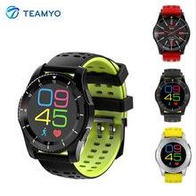 Teamyo GS8 SmartWatch Мужчины Bluetooth 4.0 фитнес-трекер sim-карты сердечного ритма артериального давления Спорт Смарт Браслет smartwatch