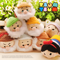 New Arrival Snow White and the Seven Dwarfs TSUM TSUM Mini Plush Toy Christmas Gift Collection