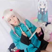 New Japanese Anime Eromanga Sensei Izumi Sagiri Cosplay Costume Green Coat+Pajamas+Bowknots Halloween Costumes for Women S-XL