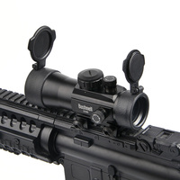 BUSHNELL 2x40 Green Red Dot Sight Scope Tactical Optics Riflescope Fit Picatinny Rail Mount 20mm Rifle
