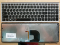 100% brand new original laptop keyboard for Lenovo Z500 Z500A notebook keyboard with frame