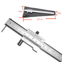 0-200mm hartmetall vernier mark parallel lineal kreuz callipers edelstahl callipers nadel marke quer vernier callipers