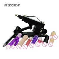 Fredorch Powerful Motor Machine 8 Dildos Attachments Updated Love Machine Sex Toys Sex Machine with G spot Dildo