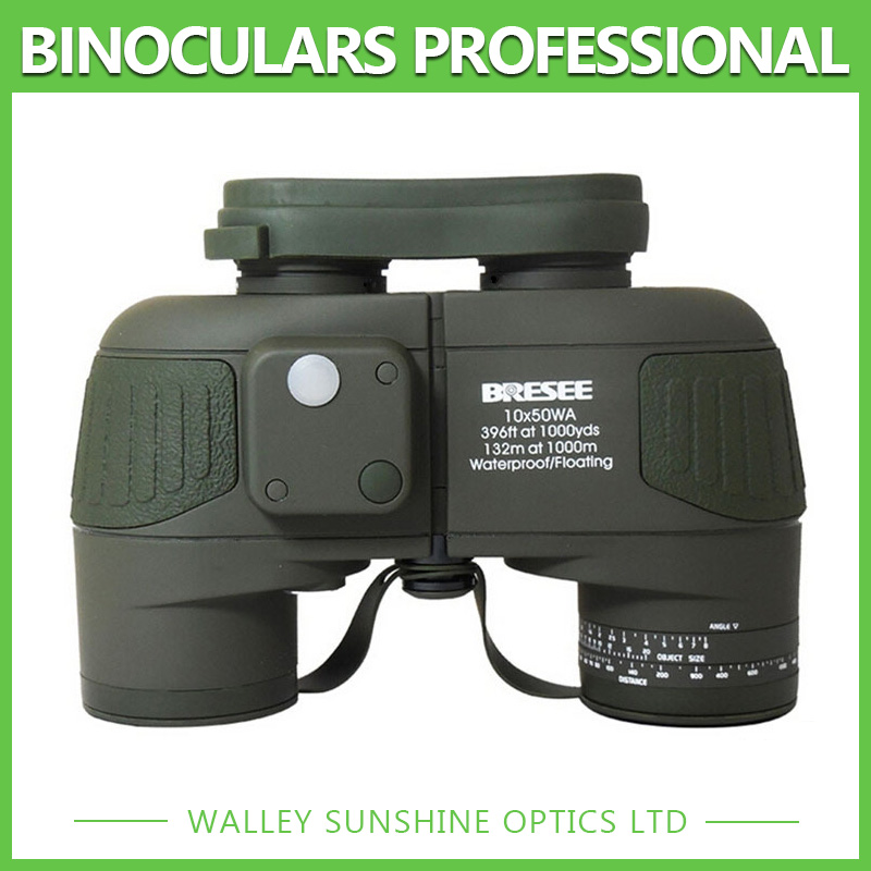 Waterproof HD Ocean Marine Floating Boat Binoculars Telescope With Interal Compass font b Rangefinder b font