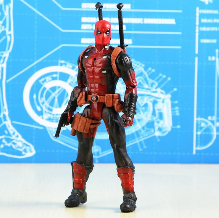 Avengers 3 Infinity War Thanos venom black Captain America Spider Man Dead men Action Figure Toys For Children 16 18CM in Figurines Miniatures from Home Garden