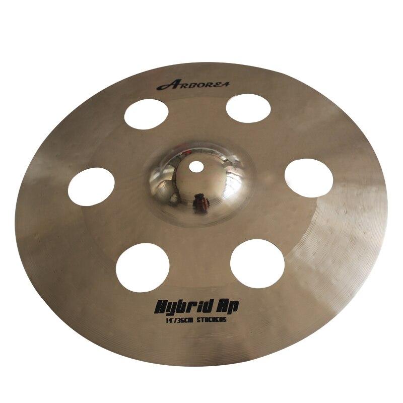 Arborea 100% Hand Made Cymbals 14 StackersArborea 100% Hand Made Cymbals 14 Stackers