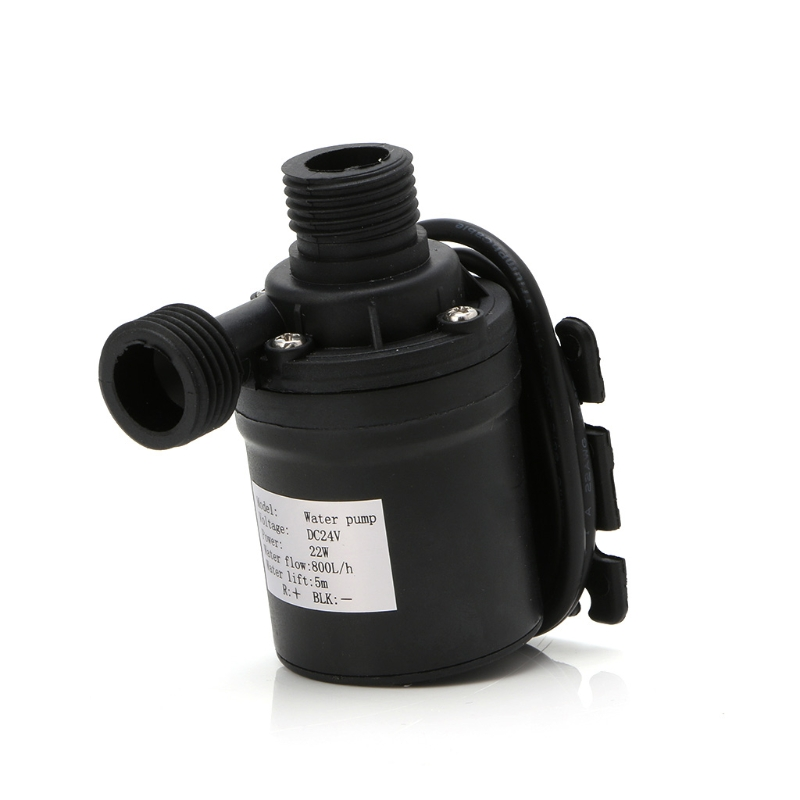 5m DC12V 24V Solar Brushless Motor Water Circulation Water Pump Submersibles Water Pumps audioquest water xlr 0 5m