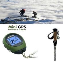 Портативный мини ручной gps навигационный приемник локатор с электронным компасом USB Перезаряжаемый для путешествий на открытом воздухе