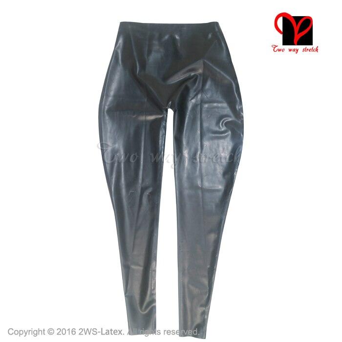 PUNK RAVE nouveau gothique diable empreintes de pieds noir femmes Leggings mode évider Punk extensible femme mince Sexy pantalon foncé - 6