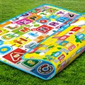 2016 New Style  Play Mat 200*160CM Fruit Millionaire Game Child Beach Picnic Mat Baby Crawling Carpet Kids Toy