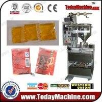 Honey Jam Soy Sauce Sachet Bag Pouch Paste Fill Seal Cut Machine
