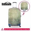 2016 Personalizado bagagem protetor para cobertura de bagagem duffle Legal à prova d' água 18-30 polegada Clara capas para malas de viagem anti-zero