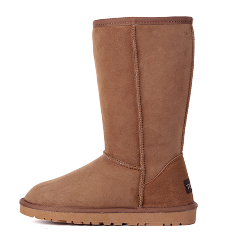 Casual As Picture Zapatos 2018 Genuina Picture Nieve Botas Invierno Piel Grwg De Same Venta Mujeres Cuero Caliente same Oveja Mujer 7OnRwqTax