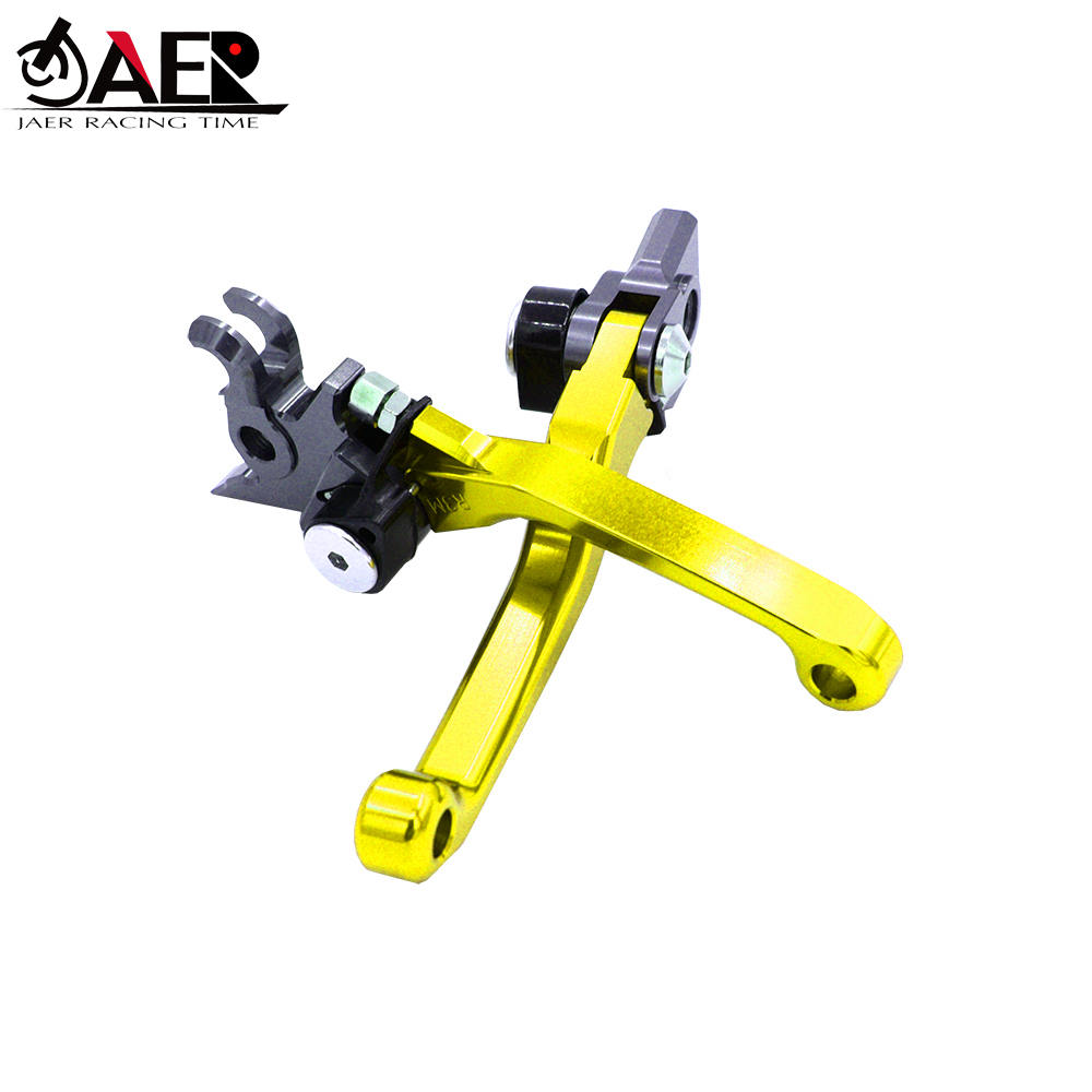 Image 2 - JAER Motorcycle Dirt Bike Brake Clutch Levers For Honda XR250 MOTARD 1995 2007 XR400MOTARD 2005 2008 CRM250R/AR 1994 1998-in Levers, Ropes & Cables from Automobiles & Motorcycles