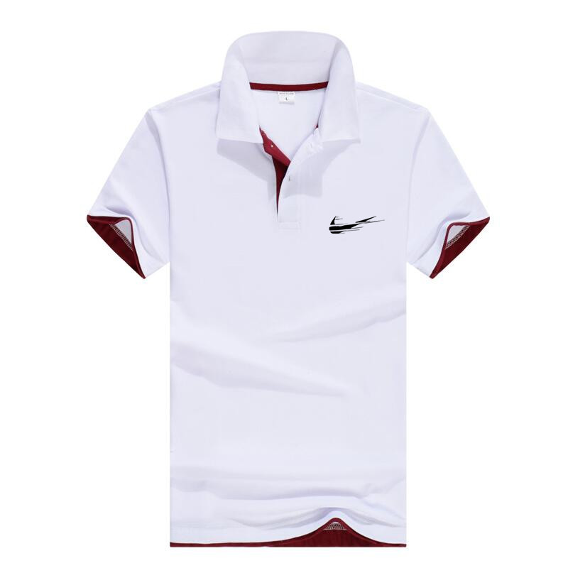 heat 2019 summer The New   polos   men's shirt quality cotton short-sleeved   polo   shirt breathable solid color mens shirt Brand   polo