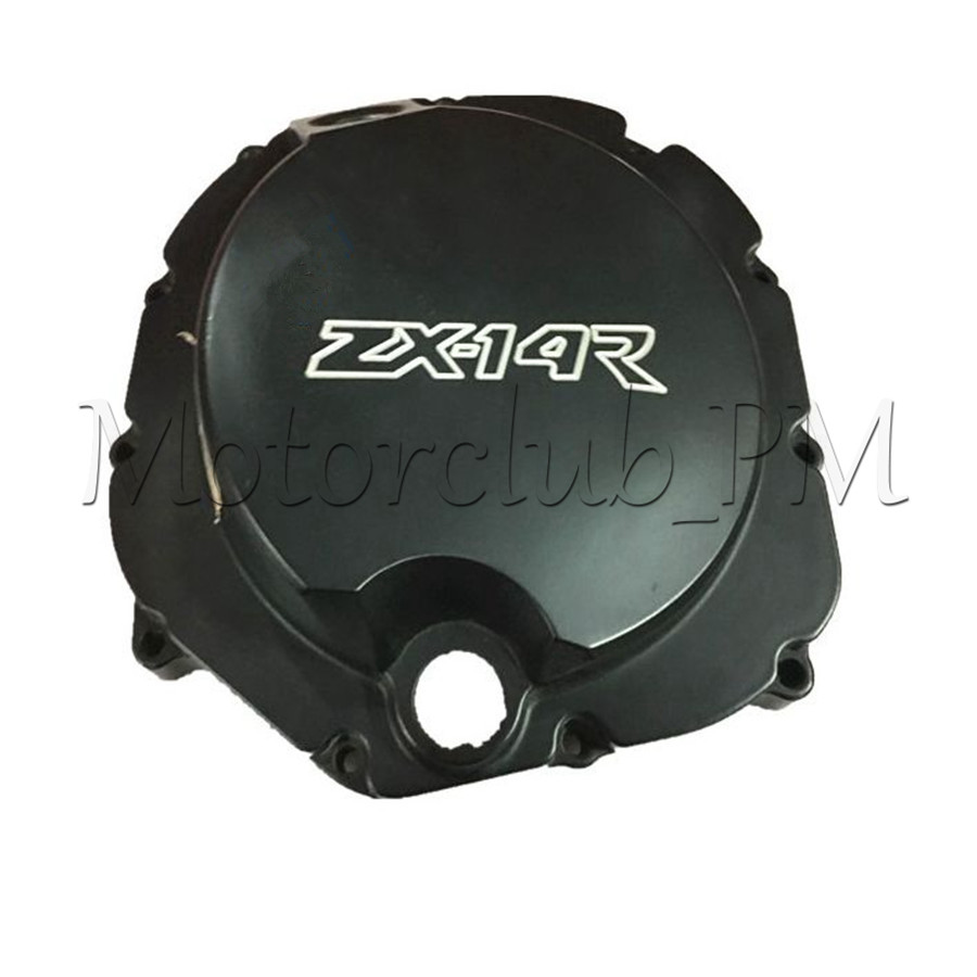 High Quality Engine Stator Crankcase Cover Crank Case For Kawasaki ZX14R ZZR1400 2006-2009 2007 2008 Black lifan 125 125cc engine left crankcase stator rotor casing case dirt bike atv