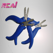 10Pcs Multi Functional Micro Ring Closer And Opener Hair Extension Plier Loop Hair Pliers Blue Color
