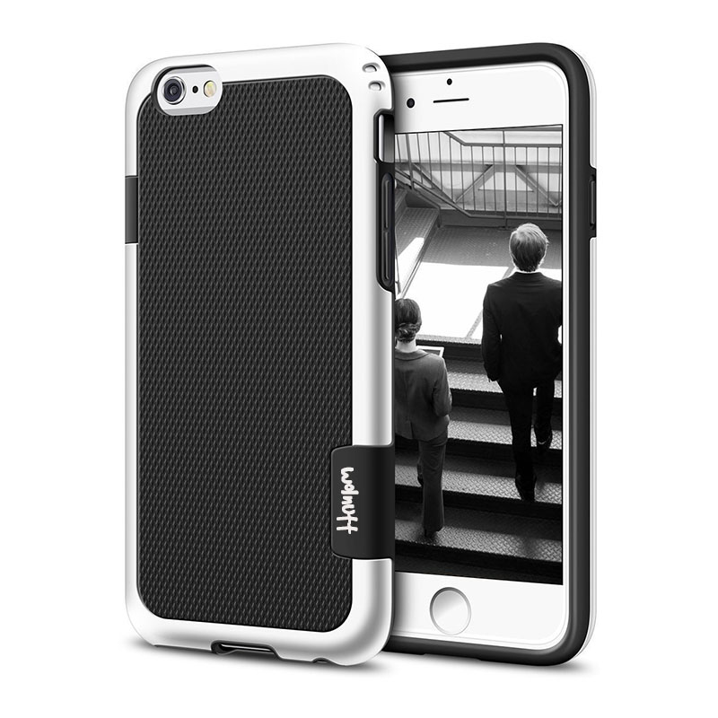 Противоударный Гибридный Силиконовый противоударный чехол для funda iPhone 6S 7Plus 7 8 Plus Xs Max XR Противоскользящий чехол для iPhone 11 Pro Max - Цвет: Black
