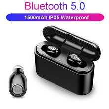X8 TWS Bluetooth Earphone 5D Stereo Wireless Earbuds headset