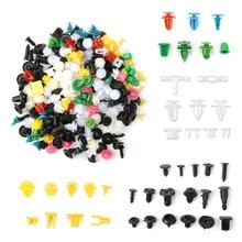 200 Pieces Car Universal Mixed Colorful Fasteners Car Plastic Bumper Rivets Automotive