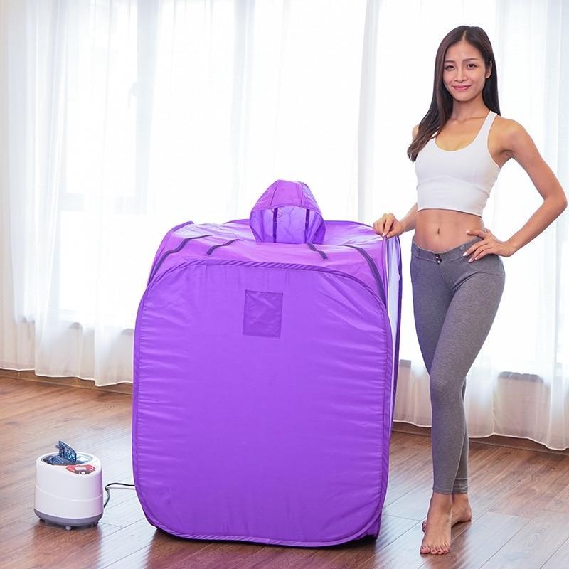 Portable Steam Sauna Steam Bath Machine Sauna Bag Steam Generator Lose Weight keep Skin Healthy WET