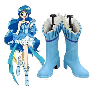 Anime Mermaid Melody Hanon Hosho Boots Cosplay  Custom-made - DISCOUNT ITEM  22% OFF All Category