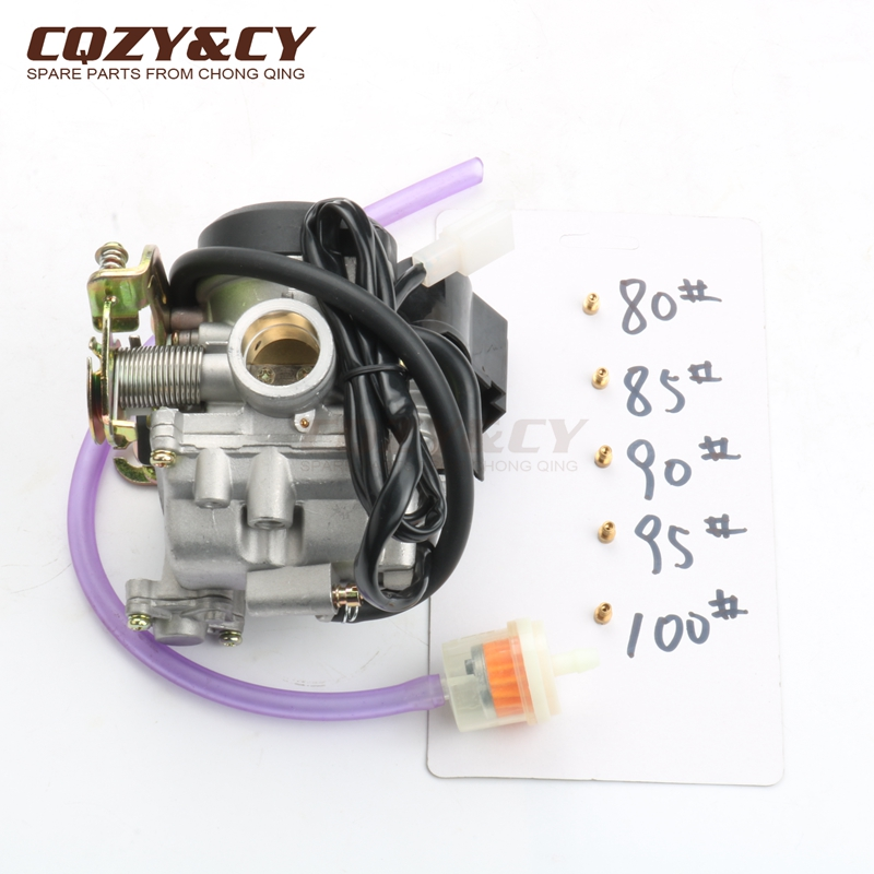20mm Scooter Carburetor PD20J for GY6 CVK 139QMB 139QMA 50cc 80cc 100cc 4 stroke