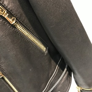 Image 5 - women quality genuine leather jacket fashion lady leather blazer plus size 5XL