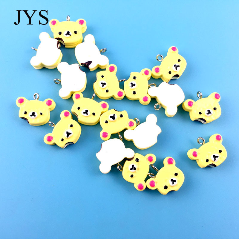 FREE SHIPPING 20MM 24PCS/LOT ACRYLIC CHARMS CAKE CHAMRS FOR JEWELRY FINDING FOR NECKLACE BRACELET