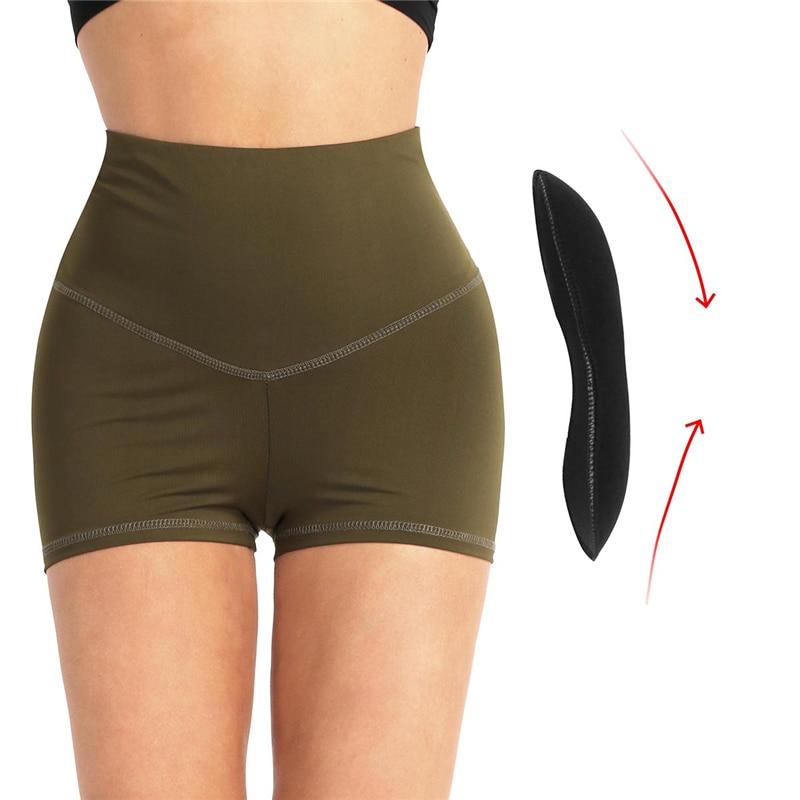 Womens Hip Enhancer Shaper Butt Lifter Sponge Pad Removable Bottom Foam Panties